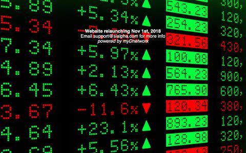 Screenshot of Home Page sialpha.com captured Oct. 19, 2018