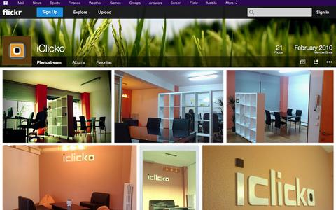 Screenshot of Flickr Page flickr.com - Flickr: iClicko's Photostream - captured Oct. 23, 2014