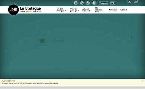 Screenshot of Site Map Page pik.bzh - Sitemap - captured Jan. 22, 2016