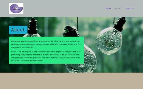 Screenshot of About Page erbplus.com - About — Alkhemics - captured Oct. 29, 2014