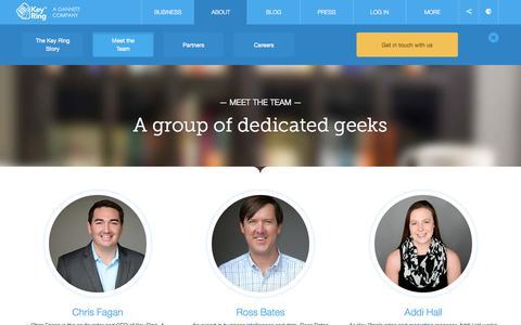 Screenshot of Team Page keyringapp.com - The Key Ring Team | Key Ring - captured Sept. 16, 2014
