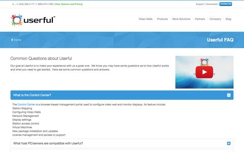 Software FAQ Pages on Joomla | Website Inspiration and Examples | Crayon