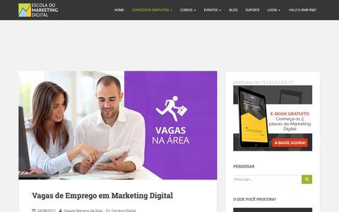 Vagas de Emprego em Marketing Digital - Blog | Escola do Marketing Digital