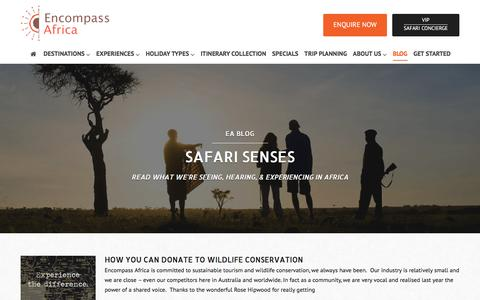 Screenshot of Blog encompassafrica.com.au - Blog | Encompass Africa - captured Dec. 10, 2015