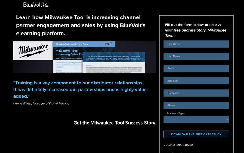 Success Story - Milwaukee Tool