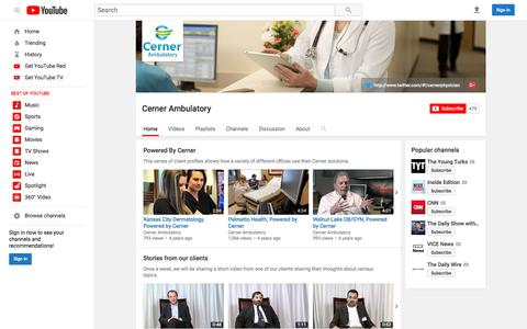 Cerner Ambulatory  - YouTube