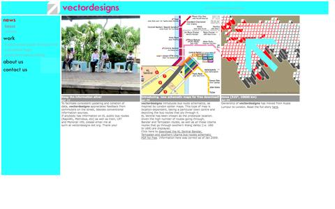 Screenshot of Home Page vectordesigns.org - vectordesigns - captured Sept. 30, 2014