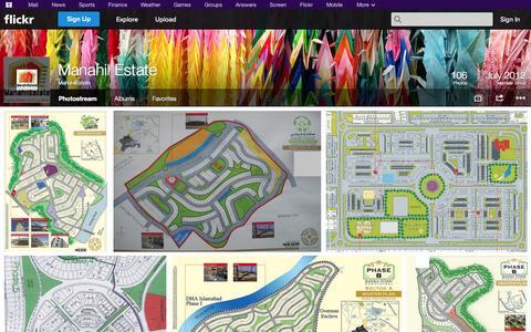 Screenshot of Flickr Page flickr.com - Flickr: ManahilEstate's Photostream - captured Oct. 23, 2014