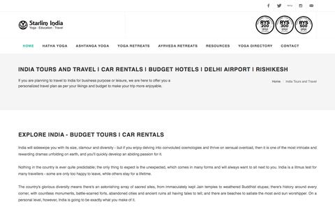 India Tours and Travel | Car Rentals | Budget Hotels | Delhi Airport | Rishikesh