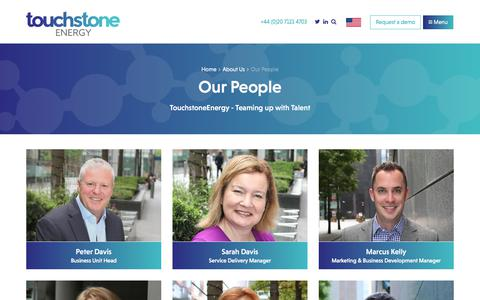 Screenshot of Team Page touchstoneenergy.co.uk - Our People | About Us | TouchstoneEnergy - captured Nov. 7, 2017