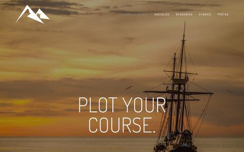 Screenshot of Home Page pioneer-outdoors.com - Pioneer Outdoors - captured Dec. 9, 2015