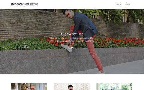 Screenshot of Blog indochino.com - Indochino Blog - captured Sept. 16, 2014
