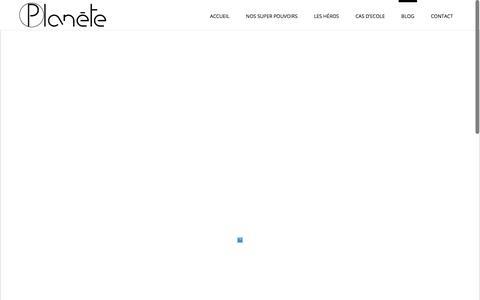 Screenshot of Blog agence-planete.fr - Planète – Agence de communication graphique et digitale à Lyon | LE BLOG DE L'AGENCE PLANÈTE - Planète - Agence de communication graphique et digitale à Lyon - captured Dec. 3, 2017