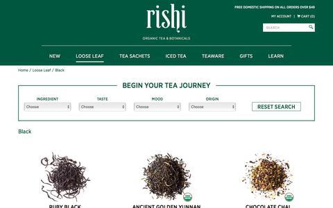 Organic Black Tea | Rishi Tea