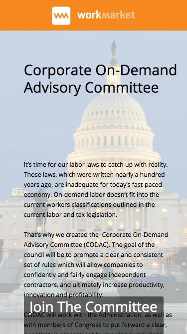 Corporate On-Demand Advisory Committee