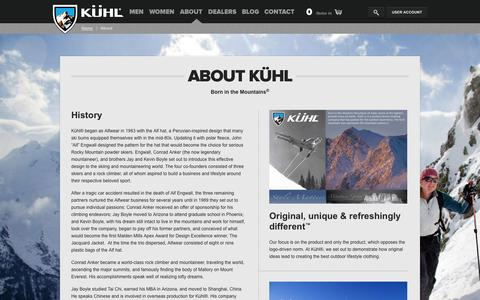 Kuhl Clothing Official Online Store | Born in the Mountains
