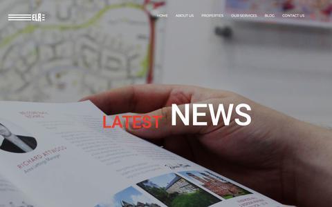 Screenshot of Blog elr.co.uk - Blog - ELR Estate Agents - captured Nov. 25, 2018