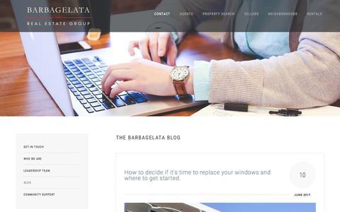 Screenshot of Blog realestatesf.com - Blog | San Francisco Bay Area | Barbagelata Real Estate  Group | Barbagelata Real Estate - captured Oct. 10, 2017