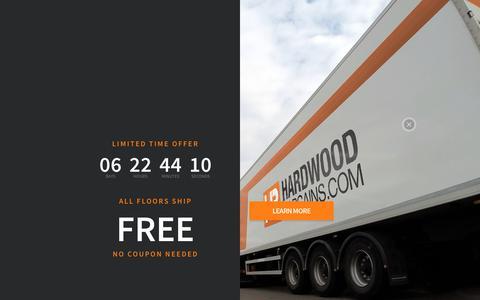 Screenshot of Signup Page hardwoodbargains.com - Create New Customer Account - captured Nov. 2, 2018