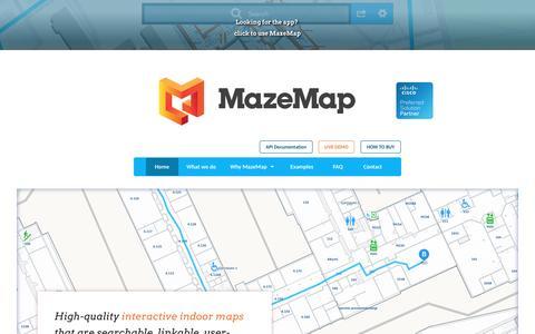 MazeMap Indoor Maps and Navigation