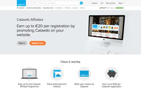 Catawiki affiliate programme - Earn money with your website! - Catawiki