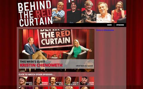 Screenshot of Home Page behindtheredcurtain.com.au - Behind the Red Curtain - captured Sept. 26, 2015