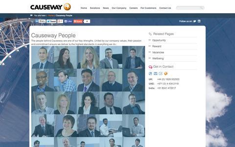 Screenshot of Team Page causeway.com - Causeway People | Causeway - captured Oct. 10, 2014