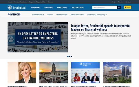 Newsroom | Prudential