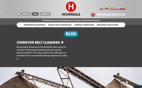 Screenshot of Blog hoverdale.com - Blog - Hoverdale - captured Dec. 13, 2015