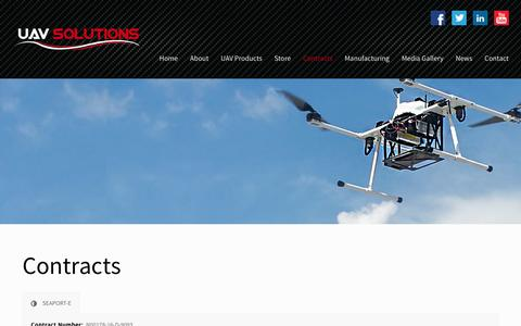 UAV Solutions Contracts - UAV Solutions