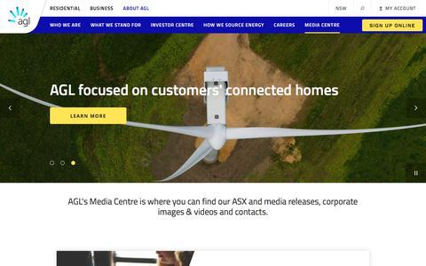 Media Centre | AGL
