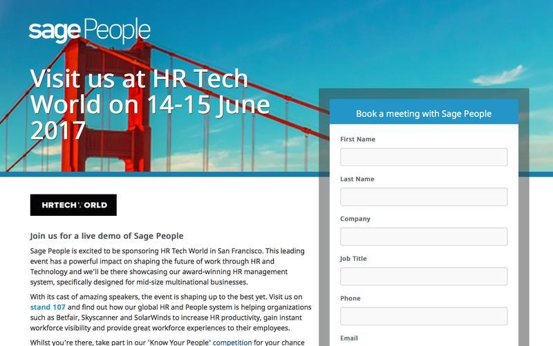 Meet Fairsail at HR Tech World London 2017