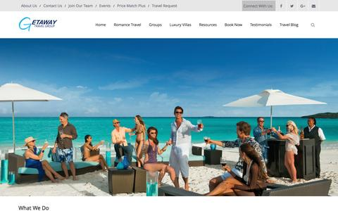 Screenshot of About Page getawaytravelgroup.com - About Us | GetAway Travel Group - captured May 17, 2017
