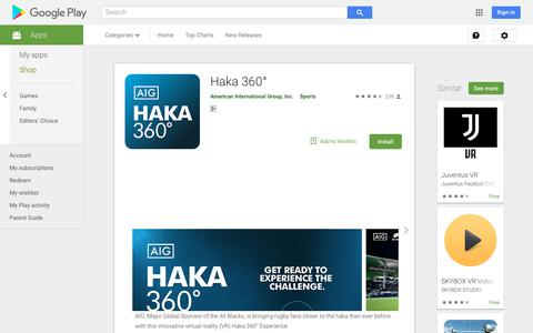 Haka 360° - Apps on Google Play