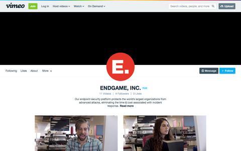 ENDGAME, INC. on Vimeo