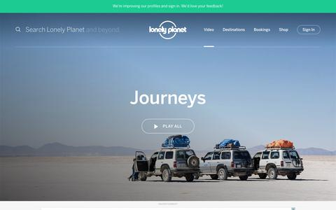 Journeys channel - Lonely Planet video