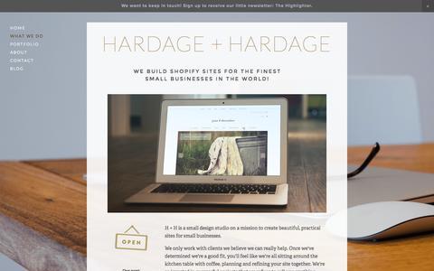 Screenshot of Services Page hardage-hardage.com - What We Do Ń HARDAGE + HARDAGE - captured Dec. 7, 2015