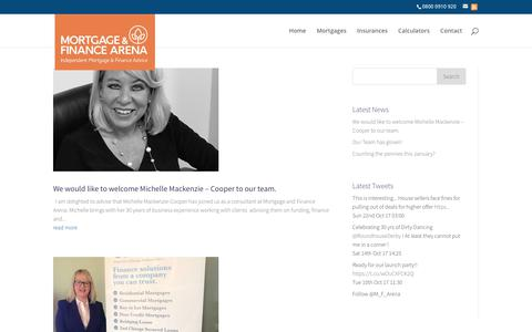 Screenshot of Press Page mortgageandfinancearena.co.uk - News at Mortgage & Finance Arena Ltd - captured Oct. 28, 2017