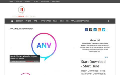 Apple Nieuws Vlaanderen Archieven | Apple Nieuws Vlaanderen