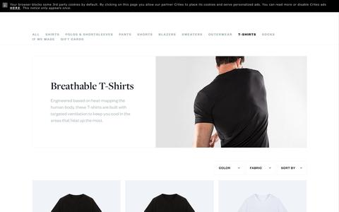 Men's T-Shirts | Ministry of Supply