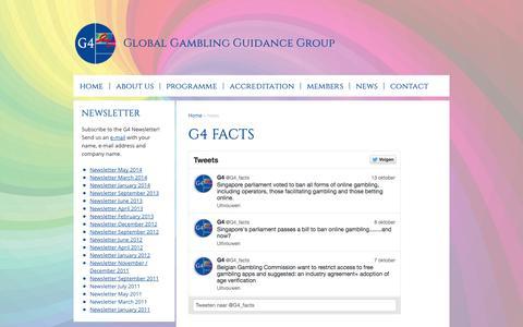 Screenshot of Press Page gx4.com - News - captured Nov. 2, 2014