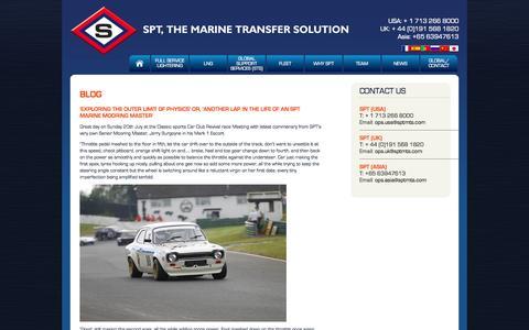 Screenshot of Blog sptmts.com - Blog | sptmts.com - captured Oct. 1, 2014