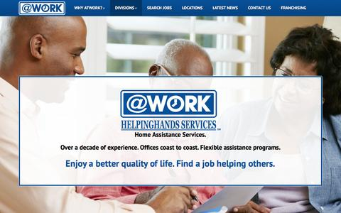 Screenshot of atwork.com - AtWork Helping Hands - captured March 20, 2016