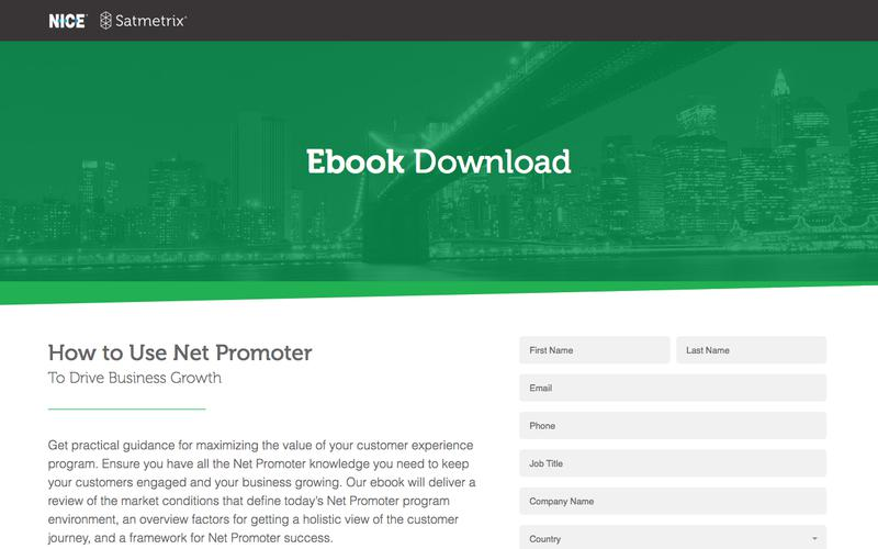 Satmetrix eBook: How to Use Net Promoter to Drive Business Growth