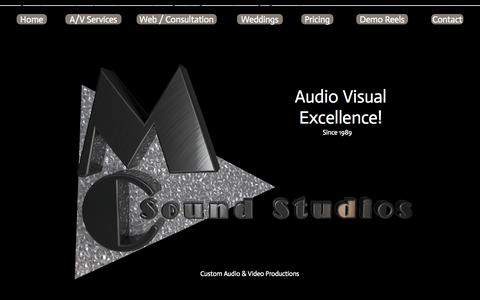 Screenshot of Contact Page Pricing Page mcsoundstudios.com - MC Sound StudiosMC Sound Studios - captured Oct. 3, 2014