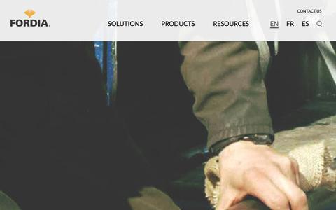 Screenshot of Case Studies Page fordia.com - Case Studies - Fordia - captured Jan. 8, 2016
