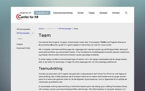B2B Services Team Pages on Joomla | Website Inspiration and