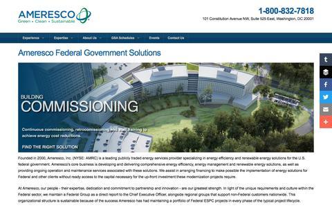Ameresco | Ameresco Federal Government Solutions