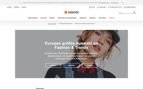 Schuhe & Mode online kaufen | ZALANDO Online Shop