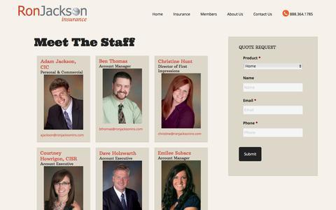 Meet The Staff | Ron Jackson Insurance Agency of Kalamazoo Michigan